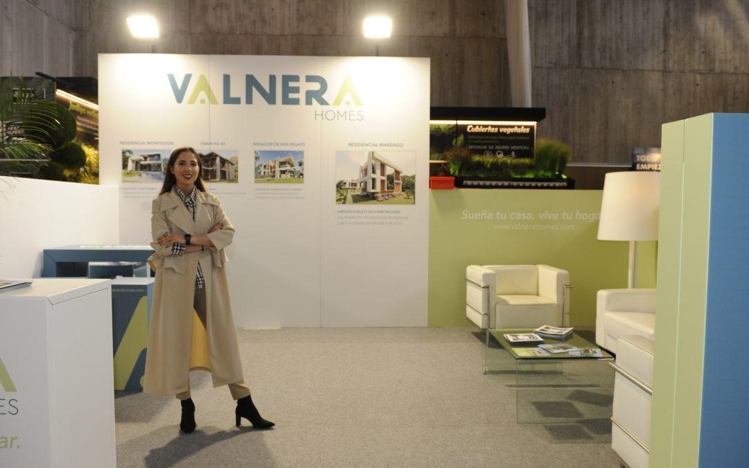 Valnera Homes se estrena en el IV Salón Inmobiliario de la Vivienda y Decoración.